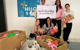 AccorHotels promove ação solidária em hospital infantil de Florianópolis
