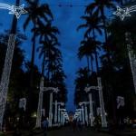 Praça da Liberdade, em BH, ganha iluminação de Natal