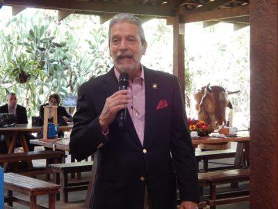 Mauricio Ventura, ministro do Turismo da Costa Rica. (Foto: Marcos J T Oliveira)