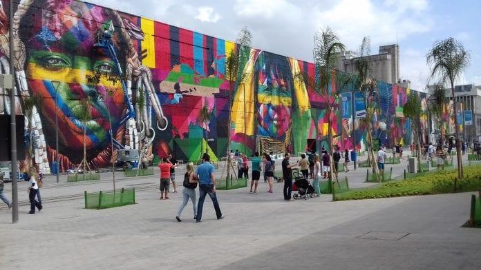 Boulevard Olímpico no Rio de Janeiro