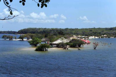 Destaque para os atrativos que vão de lagos, igarapés, praias deslumbrantes. Foto de Alter do Chão. (Foto: Sidney Oliveira/ Agência Pará)