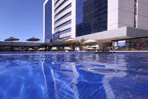 Fachada do São Salvador Hotéis & Convenções (Foto: divulgação)