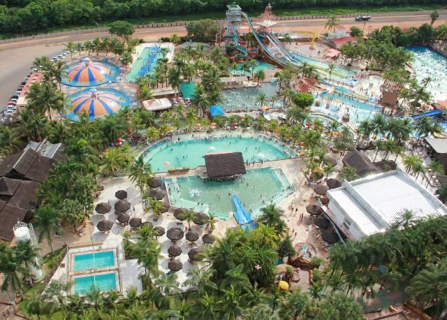 O parque conta com atrações aquáticas, Minizoológico Infantil e Fazendinha. (Foto: Divulgação)