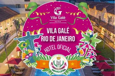 Arte anunciando a parceria com o Vila Galé. (Foto: divulgação)