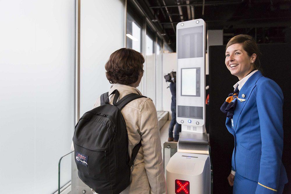 KLM testa embarque com reconhecimento facial