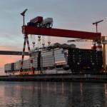 Symphony of the Seas, maior navio de cruzeiros do mundo, será entregue em 2018