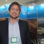 Gonzalo Romero, gerente geral da Aerolineas Argentinas, fala ao DIÁRIO