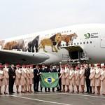 São Paulo inaugura os voos da aeronave A380 no Brasil