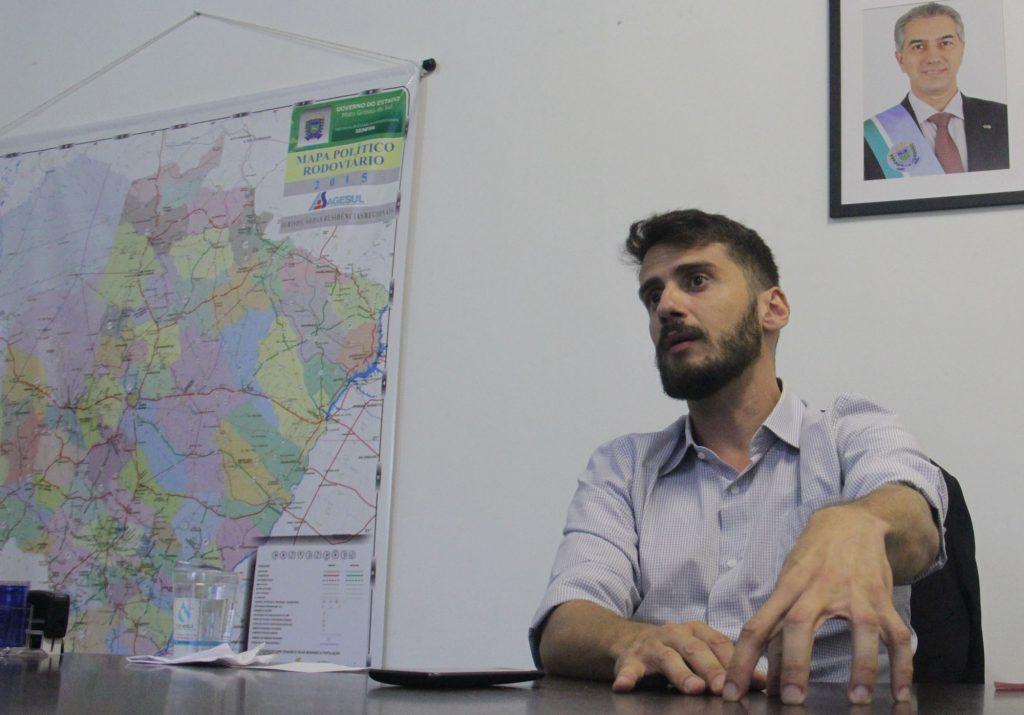 Bruno Wendling, presidente da FundTur-MS, fala ao DIÁRIO