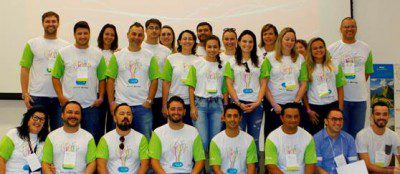 Membros da equipe da BWT Operadora (Foto: divulgação)