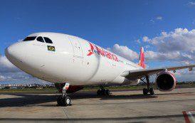 Avianca Brasil lança segundo Airbus A330-200 no mercado doméstico para voar no exterior