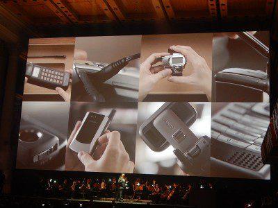 Sala São Paulo, na capital paulista, recebeu lançamento do novo celular Samsung S8. (Foto: Marcos Oliveira)