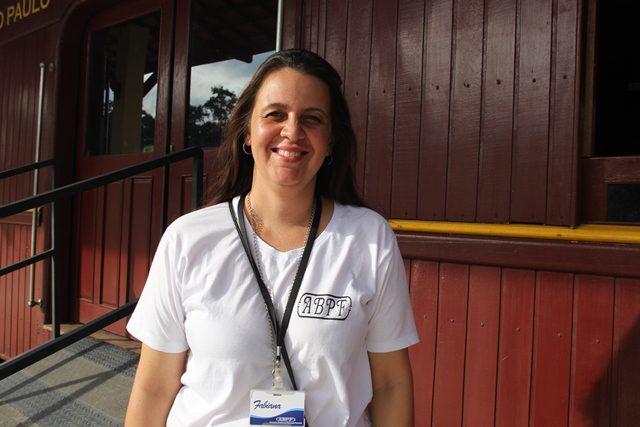Fabiana Mucsi, coordenadora da Associação Brasileira de Preservação Ferroviária (ABPF-SP)