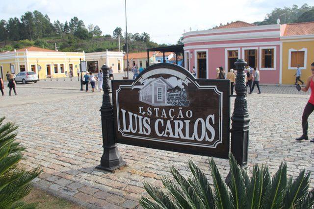 A Estação Luís Carlos é o ponto de chegada da viagem histórica, mas não o ponto final