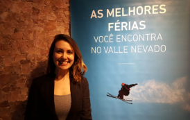 Rubiana Turelli, gerente de Valle Nevado no Brasil, falou ao DIÁRIO