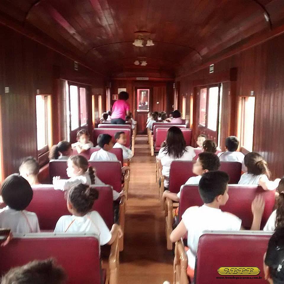 A ABPF tem um programa de acesso para os alunos da rede pública de ensino de Guararema (Foto: ABPF)