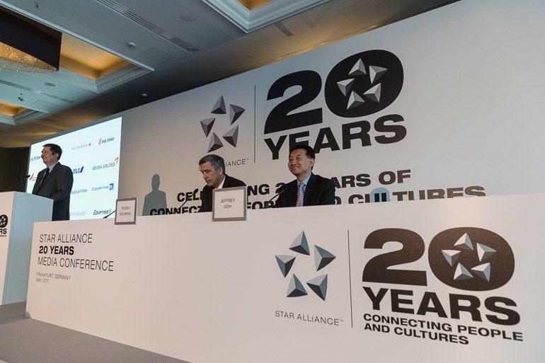 Star Alliance realiza evento de aniversário em sua cidade natal, Frankfurt