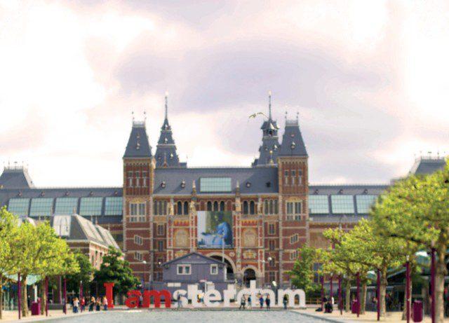 O Rijksmuseum é um museu nacional dos Países Baixos, localizada em Amesterdão na Praça dos Museus (Foto: Divulgação)