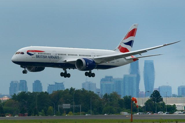 British Airways vai operar com Boeing 787-8 Dreamliner entre Londres-Galeão