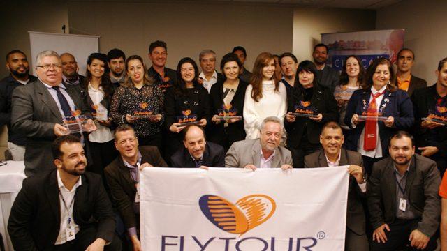 A Flytour premiou as agências que demonstraram bom desempenho de venda dos seus pacotes em 2016 (Foto:Felipe Lima)