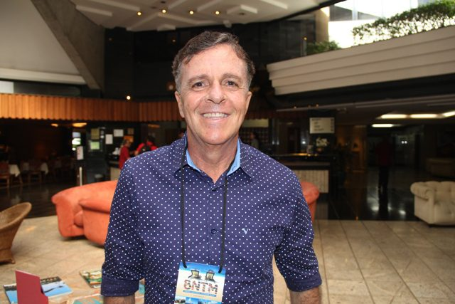 """Jorge Santana, presidente do parque Unidunas: """"Luto para preservar essa área!"""""""