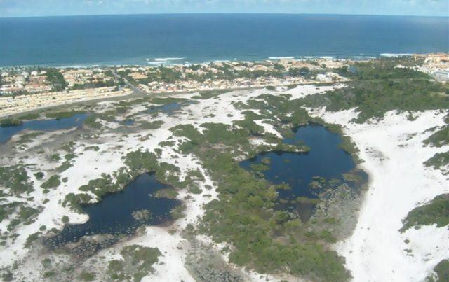 O Parque das Dunas é uma OSCIP – (Organização da Sociedade Civil de Interesse Público), criada com o intuito de preservar o ecossistema de dunas, lagoas e restingas da APA do Abaeté (Foto: divulgação)