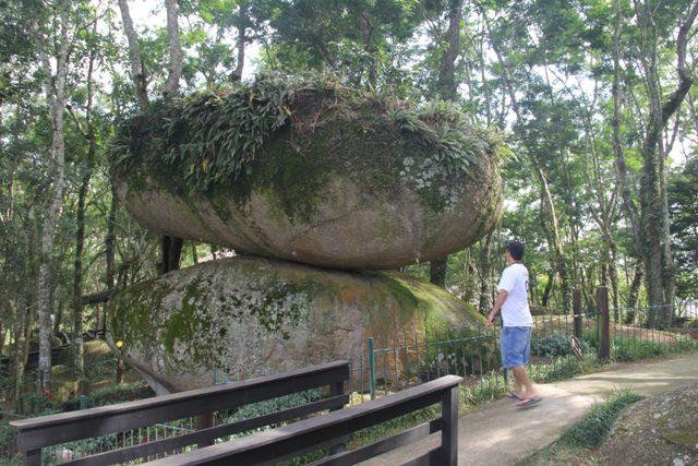 O Parque Municipal da Pedra Montada é de um cuidado e um esmero típicos de países evoluídos (Foto: DT)