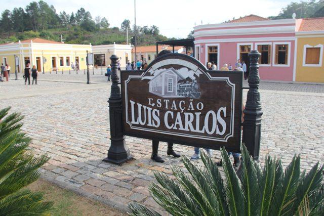 A Estação Luis Carlos foi totalmente reformulada para receber turistas (Foto: DT)