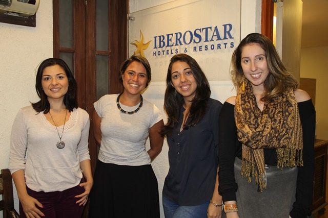 Equipe de marketing do Iberostar comemora números do primeiro trimestre