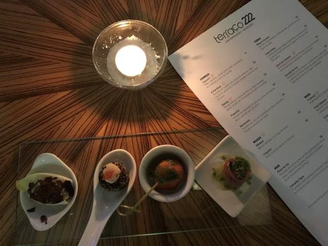 Terraço 222 é a nova aposta da gastronomia carioca