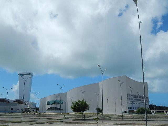 Foto externa do Centro de Convenções de João Pessoa (Foto: Marcos J. T. Oliveira)