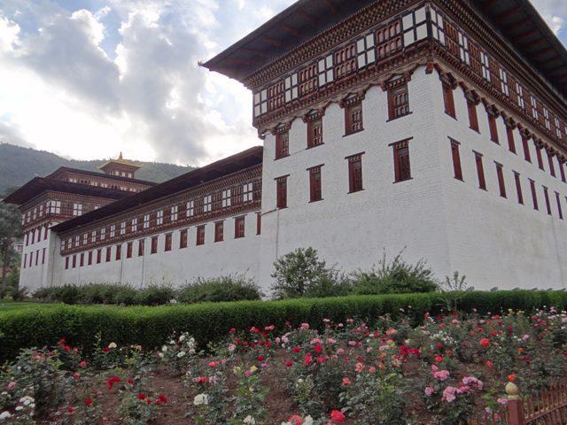Tashichho Dzong, mosteiro budista no Butão
