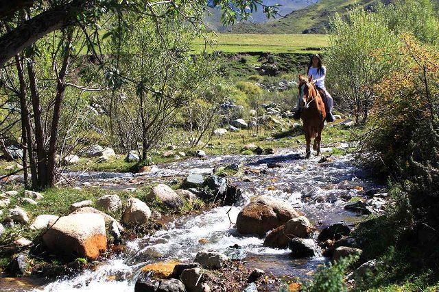 Cavalgada em Los Chulengos (Foto: viramundo e mundovirado)