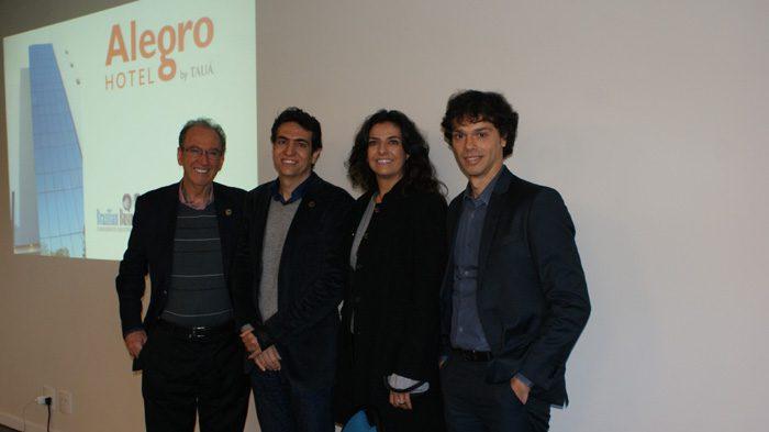 Família empreendedora: João Ribeiro, Robson Ferrira Alves, Lizete Ribeiro e Daniel Ribeiro