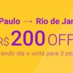 ClickBus dá desconto de R$200 em passagens na rota RJ/SP