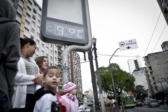 Centro e Sul do Brasil devem continuar frios até o fim de semana