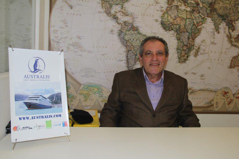 """Segundo João, o produto já está no sistema da companhia. """"Ele fará a rota Punta Arenas (Chile) – Ushuaia (Argentina) passando pelas geleiras da Patagônia. Ao todo são quatro noites"""", afirma João ao DIÁRIO"""