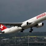 SWISS mostra aumento em passageiros transportados no primeiro semestre