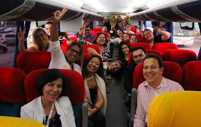 Caravanas rodoviárias são oferecidas para agentes de viagens para Experiência Braztoa Sul