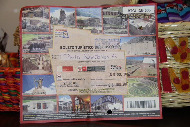 Boleto Turístico dá acesso a 14 atrações em Cusco
