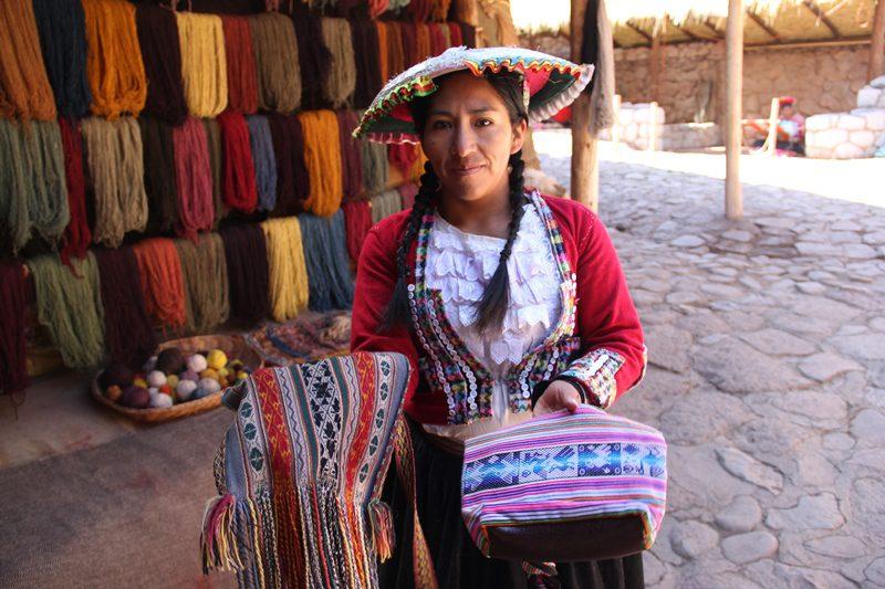 Sua população, vive da agricultura, do artesanato e do turismo (Foto: Paulo Atzingen)