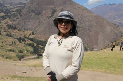 A guia de turismo, Liliana Vargas Buendia