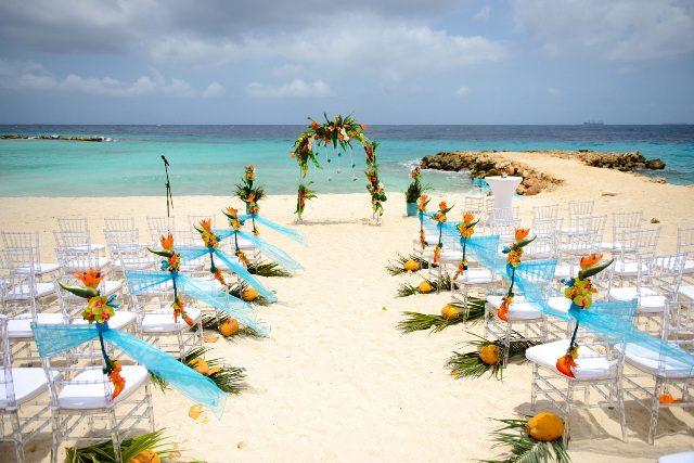 Cerimônia Hilton Curaçao (Foto: divulgação)