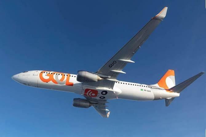 GOL tem agora 50 aeronaves com conexão a internet