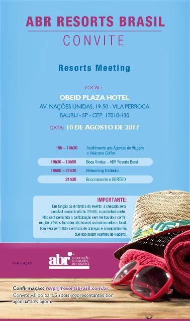 Resorts Meeting Bauru - 10.08
