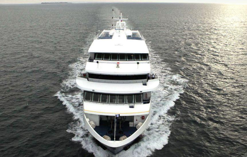 Ventus é o novo navio da Australis para viagens de expedição pela Patagônia