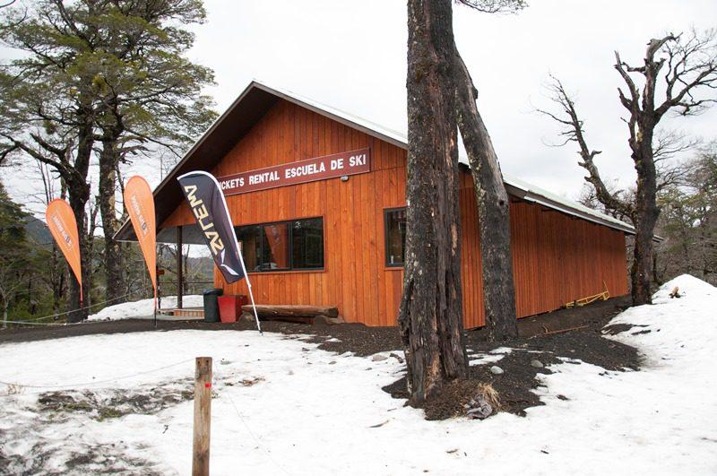 O centro é bem estruturado com equipamentos tanto para esqui quanto para snowboard