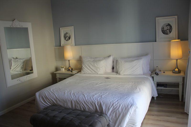O hotel possui quatro categorias de apartamentos: o standart, o executivo, o master, e a suíte (foto)