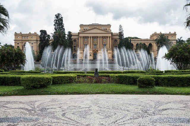 """Museu Paulista, chamado pela maioria como """"Museu do Ipiranga"""" (Foto: Hélio Nobre)"""