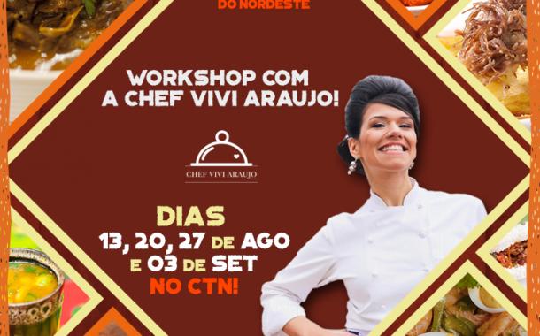 Festival Gastronômico Nordestino tem workshop com de Sabores do Nordeste com a Chef Vivi Araujo